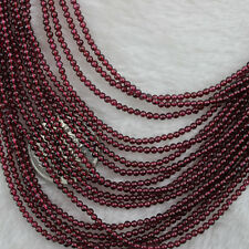2mm Natural Round Beads Loose Gemstone Beads Strand 15 Inch Jewelry Making Beads