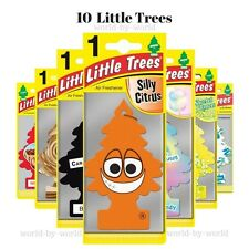 10 X pcs Little Trees Magic Trees Hanging Air Freshner Scent Car Truck home