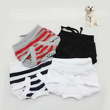 Reusable Washable Female Dog Sanitary Pants Soft Cotton Pet Puppy Diaper XS-XL