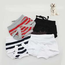 Female Pet Dog Puppy Sanitary Pants Panty Diaper Menstrual Briefs XS-XL 4 Colors