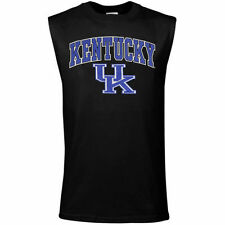 Kentucky Wildcats Black Big Arch 'n Logo Sleeveless T-shirt