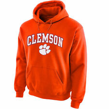 Clemson Tigers Orange Midsize Arch Pullover Hoodie