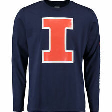 Illinois Fighting Illini Navy Eastwood Long Sleeve T-Shirt