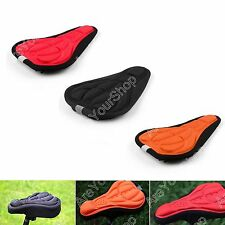 New Bike Cycling 3D Silicone Gel Pad Seat Saddle Cover Soft Cushion