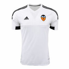 NEW Men ADIDAS Valencia CF Home Soccer Football Jersey La Liga White MSRP $90