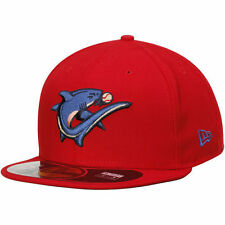 New Era Clearwater Threshers Red Authentic 59FIFTY Fitted Hat