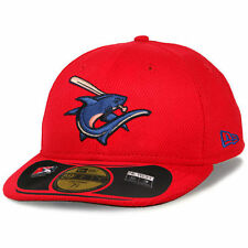 New Era Clearwater Threshers Red Low Crown Diamond Era 59FIFTY Fitted Hat