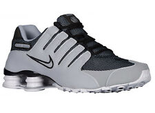 CLASSIC MENS NIKE SHOX NZ RUNNING SHOES TRAINERS BLACK / WOLF GREY / WHITE / WOL
