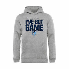 Rhode Island Rams Youth Ash Got Game Pullover Hoodie