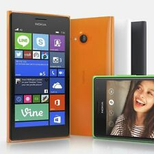 "New Nokia Lumia 735 Quad-Core 8GB  6.7MP 4.7"" GPS Unlocked Bar smart phone"