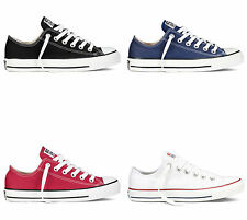 Converse Ox Low All Star Chuck Taylor (Black/Navy/Red/White)