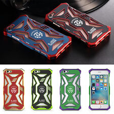 For iPhone 7 6 6s & Plus Avengers Rahmen Aluminium Metal Bumper+ABS Case Cover