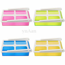 Hot Slide Fridge Freezer Space Saver Organization Storage Rack Shelf Holder