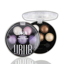 WDS High Quality 5 Colors Baked EyeShadow in Shimmer Portable Easy to Take Gift