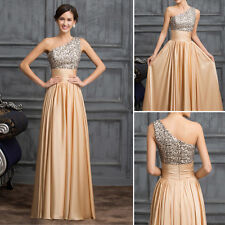 Women Sexy Long Sequins Evening WEDDING Formal Bridesmaid Prom Gown Party Dress