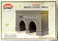 NEW, Sealed! N Scale Building Kit Model Power #1521 Double Tunnel Portal
