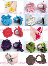 Infant Newborn Barefoot ring Sandals Shoes Flowers Baby Feet decorated ornament