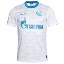 NEW NIKE Men`s Zenit St. Petersburg Away Football Soccer Jersey White $80
