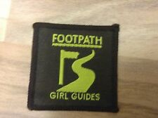 VINTAGE GIRL GUIDES PATCH