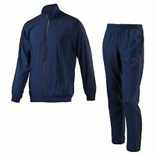 Mens Adidas Tracksuit Top Bottoms Track Pants Navy Blue Woven Climalite S M L XL