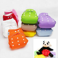 Hot New Reusable Baby Infant Nappy Cloth Diapers Soft Cover Size Adjustables
