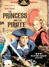 The Princess and the Pirate (DVD) Bob Hope Authentic USA Region 1 Release