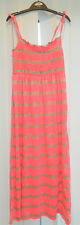 girls maxi dress pink and grey 6 to 9 years