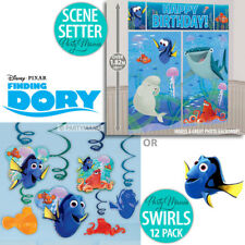 FINDING DORY NEMO OCEAN BIRTHDAY PARTY SUPPLIES SCENE SETTER OR SWIRL DECORATION