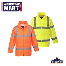 Jacket Pants High Visibility Waterproof Combo Set 2PC Safety Work Portwest