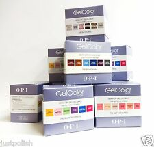 OPI Nail GelColor Gel Color Soak off Gel Polish Kit 6 colors/box Assorted Choice