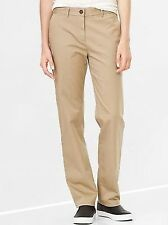 NWT NÉW Gap Straight Leg Chino Khakis Pants Sizes Sz 2 6