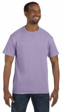 Hanes Men's Ultimate Comfort Soft Short Sleeve Double Needle T-Shirt. 5250T