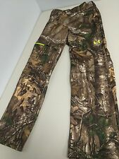 New Mens Under Armour Realtree Camo Hunting Pants Scent Control  Retails $89.99!
