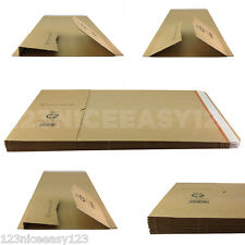 POSTING BOXES (C2) Corrugated Cardboard Mailers Protective Packaging Book/DVD