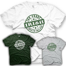 100 Proof Irish - St. Patrick Day -  Irish T-shirt Funny Humor T-shirt
