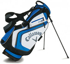 NEW *2016* Callaway Golf CHEV Stand / Carry Bag, Light Weight BLUE WHITE BLACK