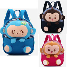 Toddler Kids Baby Schoolbag Children Cartoon Backpack Shoulder School Bags Doll