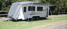 Deluxe Waterproof Caravan Cover with Awning 18-20ft