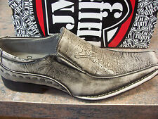 JM33 brand mens slip on dress shoes