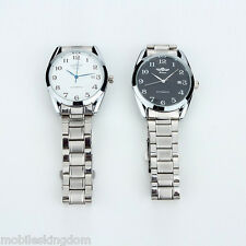 Elegant Automatic Mechanical Self-Wind Auto Date Watch Stainless Steel Analog