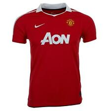 Manchester United Nike children's red white home football shirt 2010-11 3 sizes