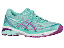NEW WOMENS ASICS GT-1000 V5 GEL RUNNING SHOES TRAINERS GLACIER GRAY / PINK GLOW
