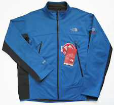 THE NORTH FACE Mens Cipher Jacket Athens Blue XL Windproof Windstopper NEW