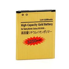 2300 3250mAh Battery for Samsung Galaxy S3 III i535 L710 T999 i9300 Black / Gold