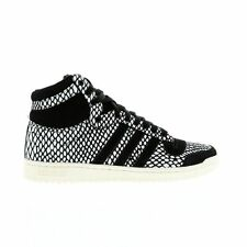 Mens ADIDAS TOP TEN HI Snake Leather Trainers M19220 £125