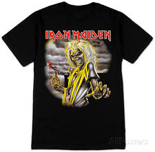 Iron Maiden- Killers Album T-Shirt Black New Shirt Tee