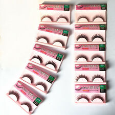New 10 Pairs Makeup Handmade Natural Fashion Long False Eyelashes Eye Lashes 006