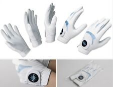 Men's Golf Glove 6 Packs/Lot Left Natural Sheepskin & Synthetic leather Durable