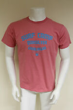 QuickSilver Mens Designer crew neck salmon pink casual Top T-Shirt sizes M & L