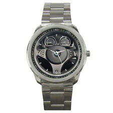 New BMW X3 Steering Wheel Sport Metal Watch Free Shipping